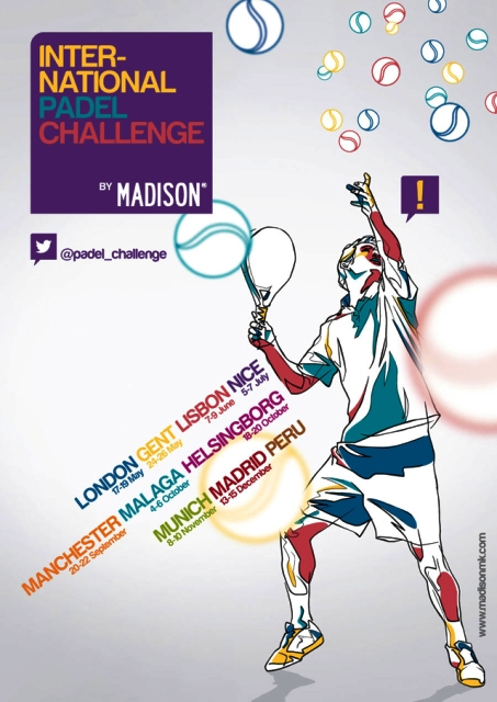 INTERNATIONAL PADEL CHALLENGE BY MADISON ESTARÁ EN 8 PAÍSES